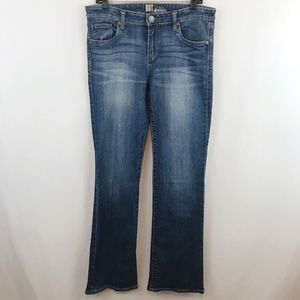 Kut From The Kloth Bootcut Jeans Medium Wash